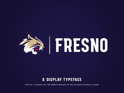 """Fresno"" Display Typeface"