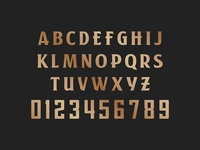 New York Lighting Typeface