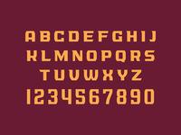 Cincinnati Vultures Typeface