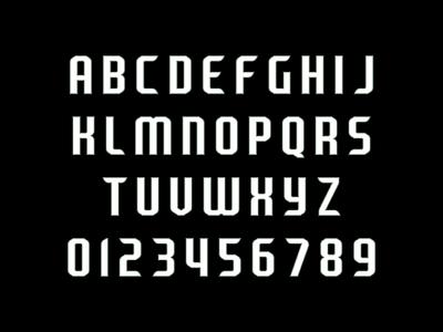 Wichita Flyers Typeface