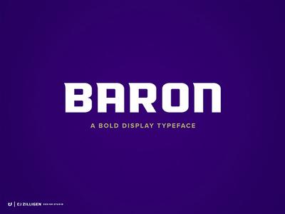 Baron Typeface