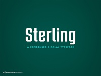 Sterling Typeface