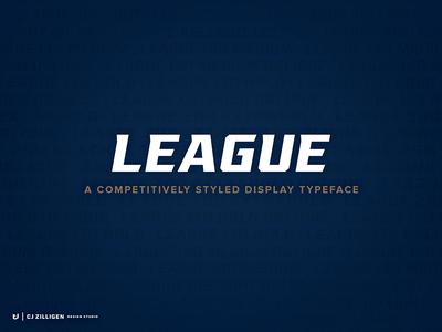 League Typeface Family