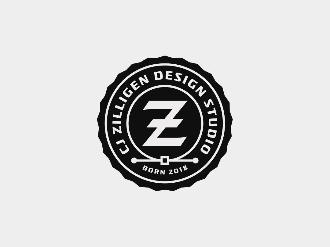 CZDS Badge badge vector sports branding design typography logo