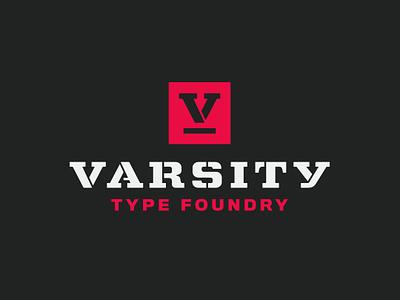 Varsity Type Foundry typedesign sports typeface font typography sports branding