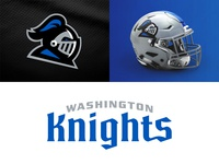 Washington Knights on Behance