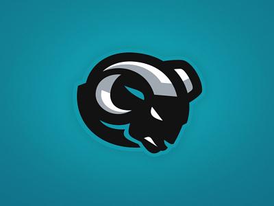 Denver Avengers on Behance logo colorado denver bighorn sheep illustration football theuflproject sports branding sports