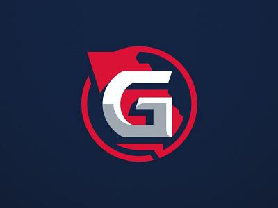 GeorgiaMADE icon georgia illustration sports branding design logo sports