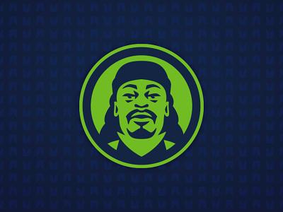 Beast Mode seahawks seattle nfl beast mode illustration vector design football logo sports