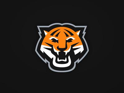 Tiger design sports branding vector illustration sports logo