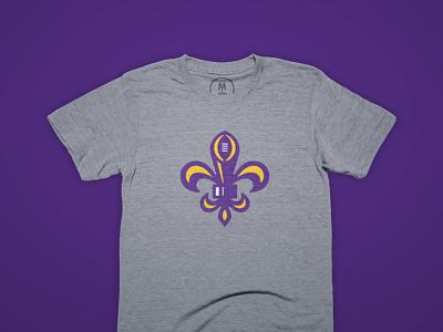 Geaux Tigahs on Cotton Bureau lsu branding vector illustration design football logo sports