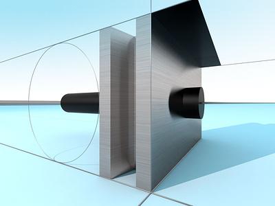 Work no. 657 abstract simple distinct clarity design illustration
