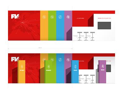 FV Plast   expo design identity branding exposition design