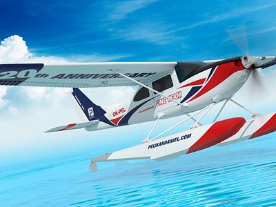 Cessna Skylane visualization packaging identity branding design