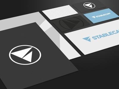 Stablecam design logotype branding identity