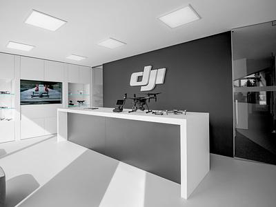 Stablecam store interior design branding design identity