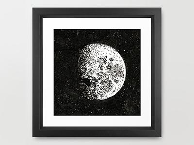 Lunar Cycle Illustration