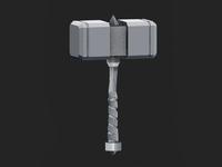Hammer Time - 3D Model