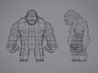 Luchador Character Design
