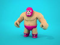 Luchador 3d Model