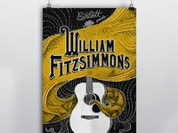 Gig Poster- William Fitzsimmons