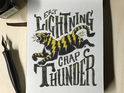 Eat Lightning Crap Thunder