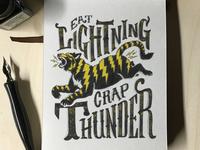 Eat Lightning Crap Thunder