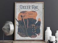 Gig Poster - Delta Rae