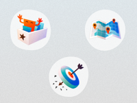EventRadr Feature icons