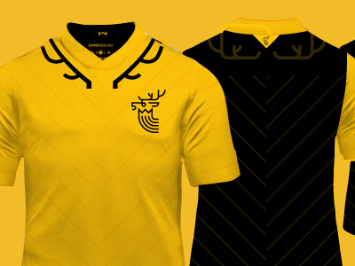 Stag Yellow Indiegogo 20 football futbol soccer indiegogo kit jersey daniel nyari nerea palacios supporters 20jerseys