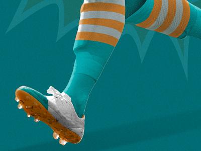 Miami Match football futbol soccer indiegogo kit jersey nerea palacios supporters nfl dolphins