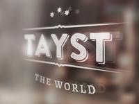 Tayst Logo Design
