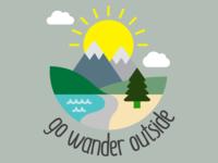 Go Wander Outside for GoWanderOutside.com (color)