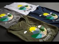 GoWanderOutside.com t-shirts