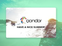 Qondor greeting