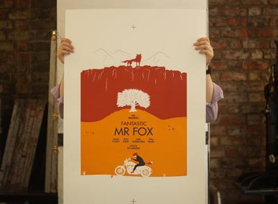 Fantatsic Mr Fox Movie Poster