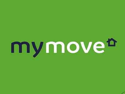 My Move wordmark web icon ui logo vector graphic design flat design typography illustration