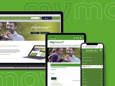 My Move application web app ui branding website design vector flat graphic design design typography illustration