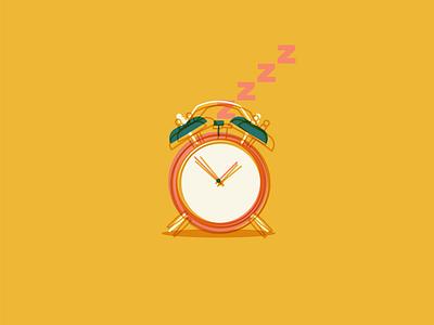 Rest - clock animation church design icon branding logo graphic design design typography illustration