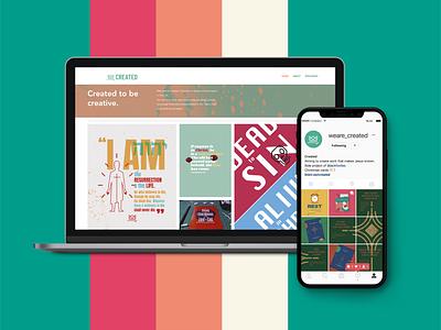 Created - website design vector church design icon branding web ui webdesign website typography illustration