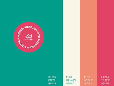 Created colour scheme church design icon design typography colourscheme colour logo graphic design branding illustration