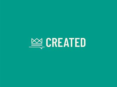 Created logo flat logodesign graphic design vector church design branding icon logo design typography illustration