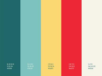 Theology Group colour scheme design graphic design flat logo church design branding palette colour