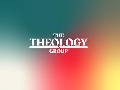 The Theology Group logo typography graphic design colour ui icon flat branding design church design logo