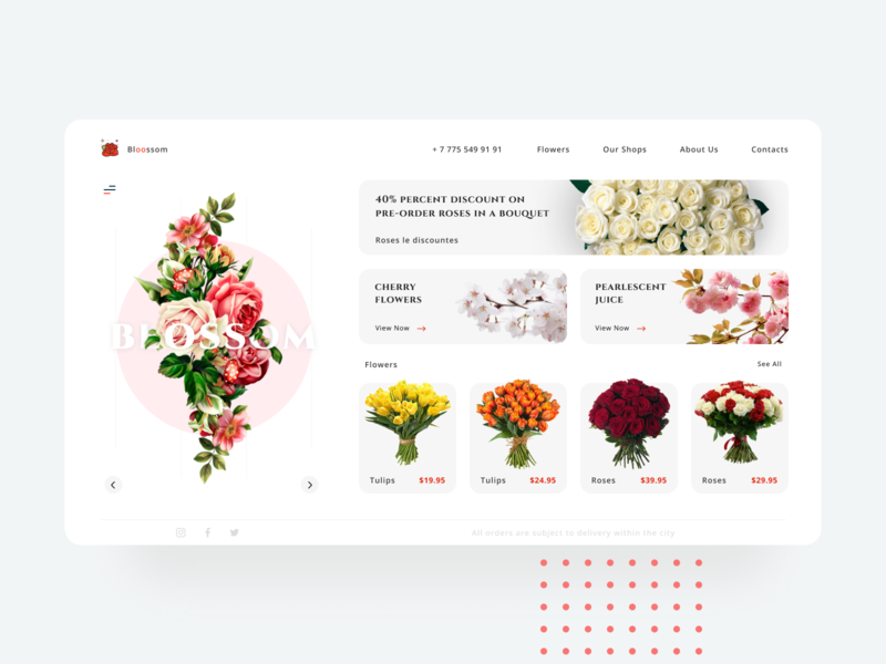 Flowers Shop uidesign mobile ui ui design mobile app design mobile app mobile design application app design app