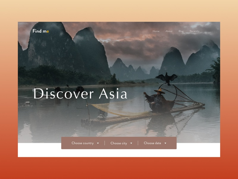 Travel media vietnam china asian media asia training travel branding advertising typography design web site