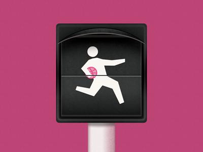 helllo dribbble intro hello-dribbble dribbble pink signal retro noise fun