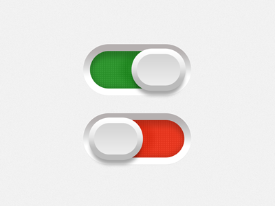 Switch button ios iphone ui