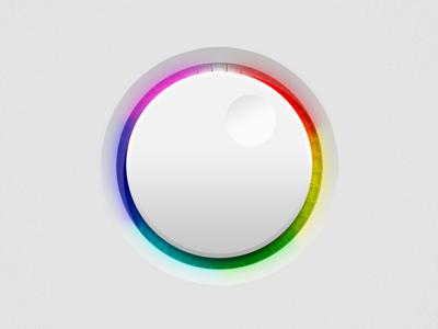 Colour Dial ui dial switch circle button