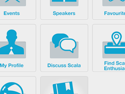 ScalaOne ui icons chat scala scalaone icon message